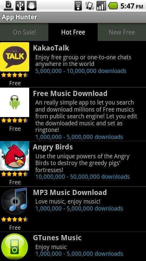 Identifică cele mai bune aplicaţii Android