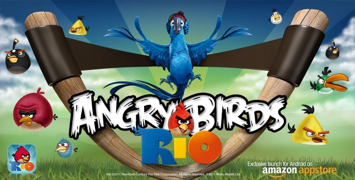 Angry Birds Rio, exclusiv pe Amazon Appstore