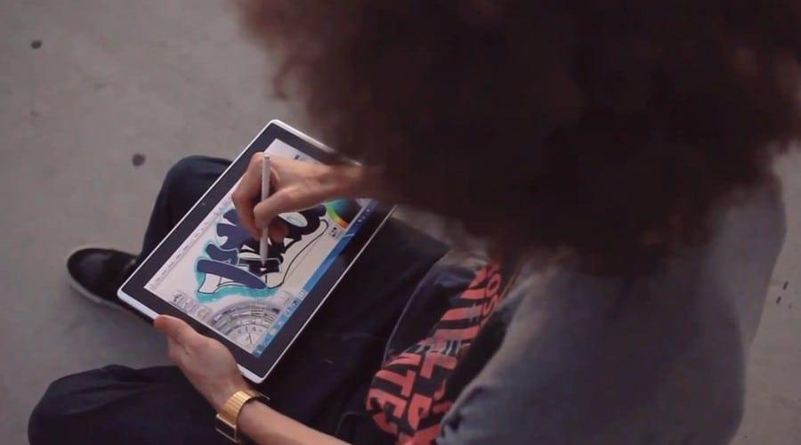 Artă pe tablet – Asus Eee Slate cu stylus