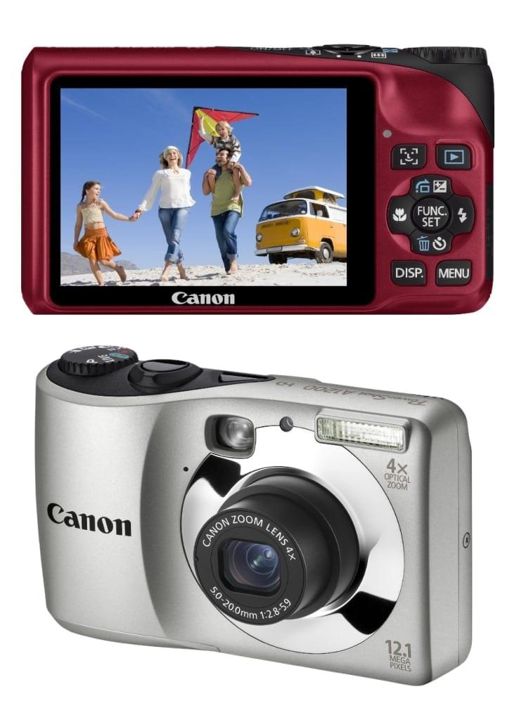 Canon PowerShot A2200 şi PowerShot A1200 – imagini impresionante, preţ accesibil