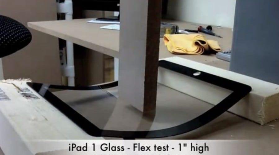 Indistructibil: test de stres pentru ecranul iPad 2