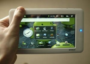 tableta evolio