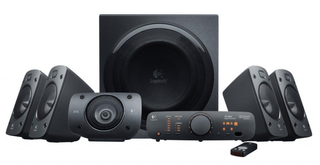 Logitech Z906 – 500W ideali pentru filme, jocuri si muzica