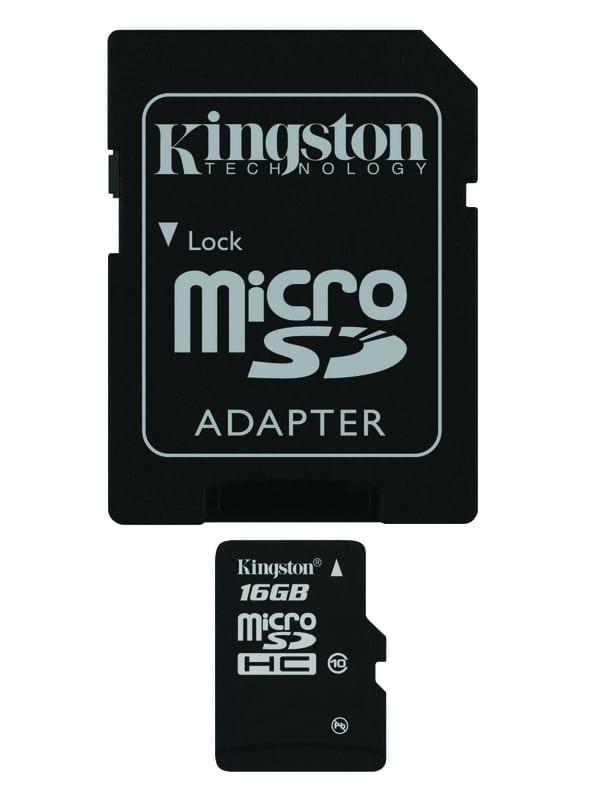 kingstom microSD 10
