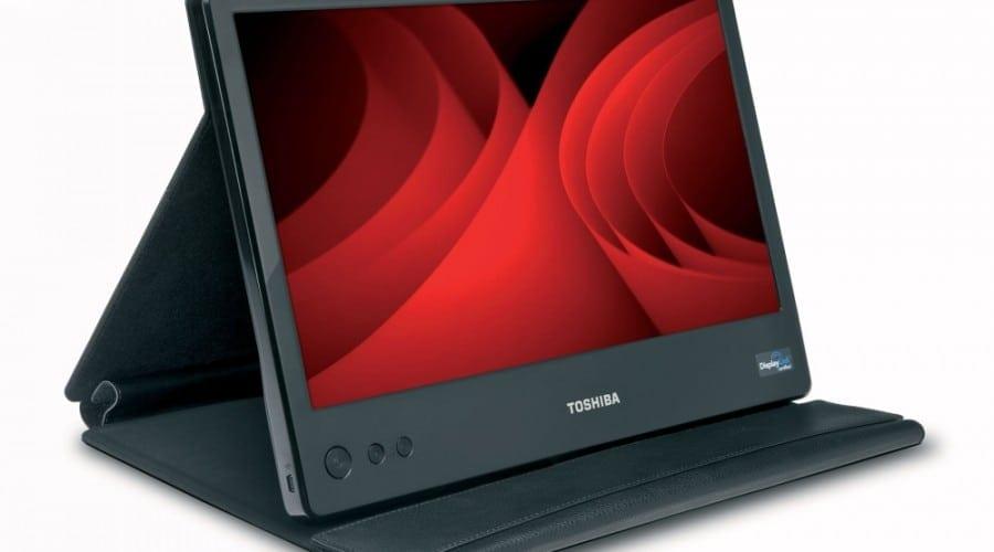 Toshiba lansează un monitor portabil