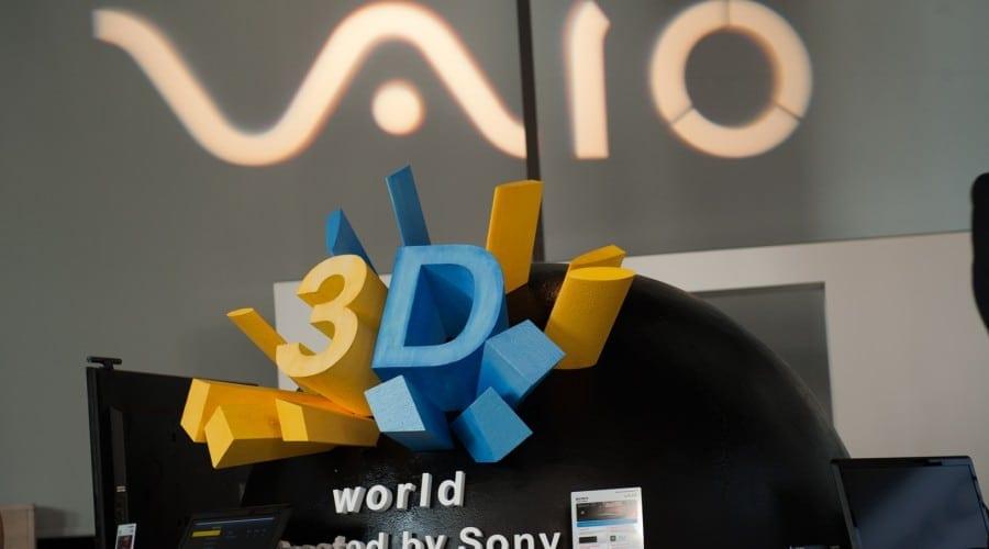 Sony VAIO F animează universul 3D