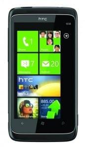 Windows-Phone-7 telefon HTC-7-Trophy