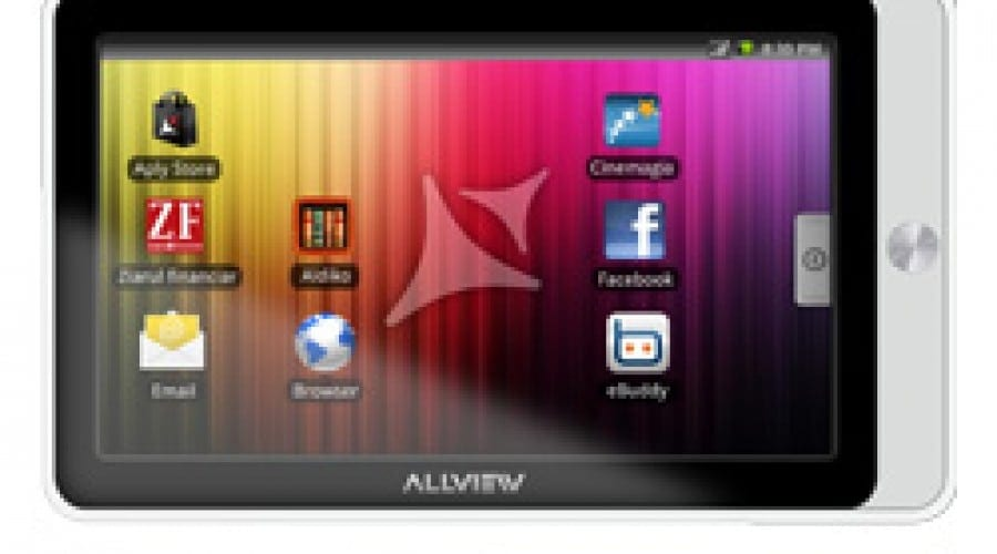 Allview AllDro: Carcasă albă, preţ promo
