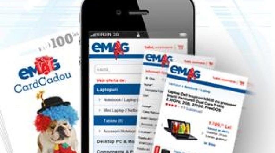 eMAG Mobil: Cumpărături din mers, pe telefon