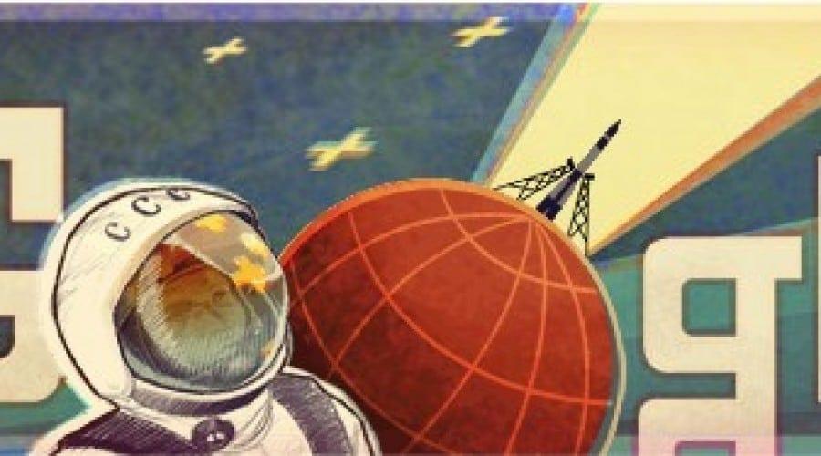 Google îl sărbătoreşte azi pe Yuri Gagarin