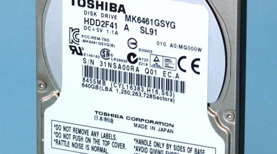 HDD cu protecţie anti-furt, de la Toshiba