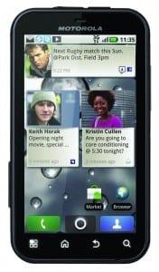 Motorola Defy: Update la Android 2.2 pentru Anglia
