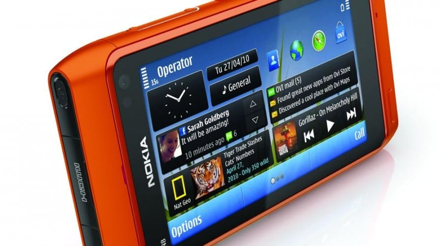 Nokia N8: test connect