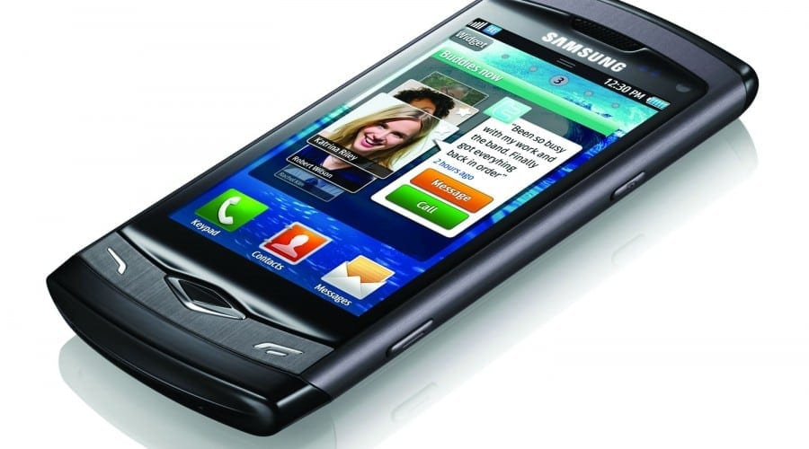 Samsung Wave S8500: Test connect