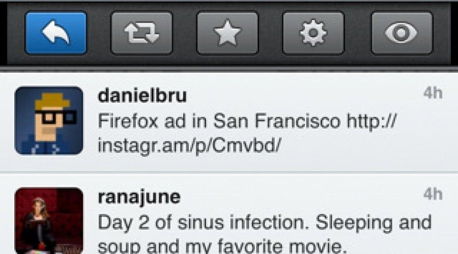 Tweebot: Twitter cu personalitate, pe iPhone
