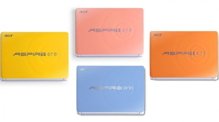 Acer Aspire One Happy, în culori de vară