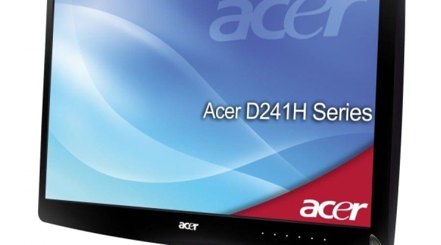 Acer D241H şi Acer M230HML: Wi-Fi şi TV