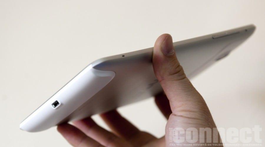 [Galerie imagini] HTC Flyer in test
