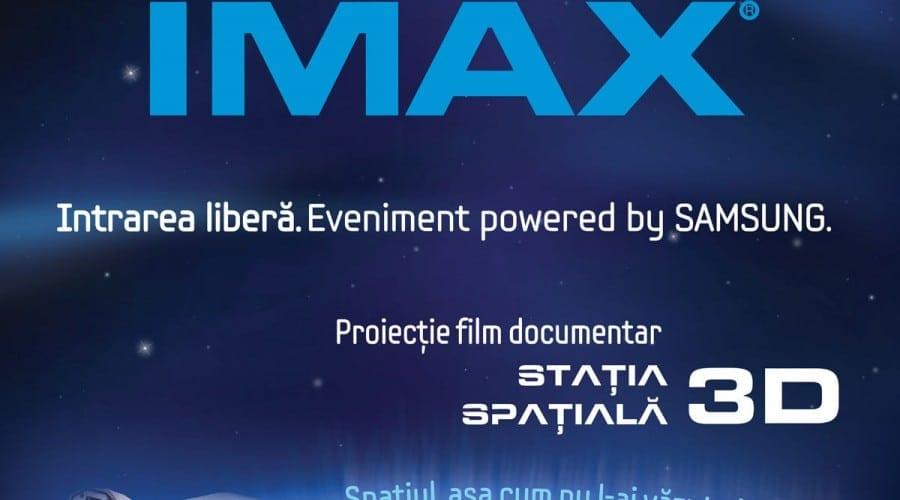 Gratuit la Samsung IMAX cu ocazia Noptii Albe a Muzeelor
