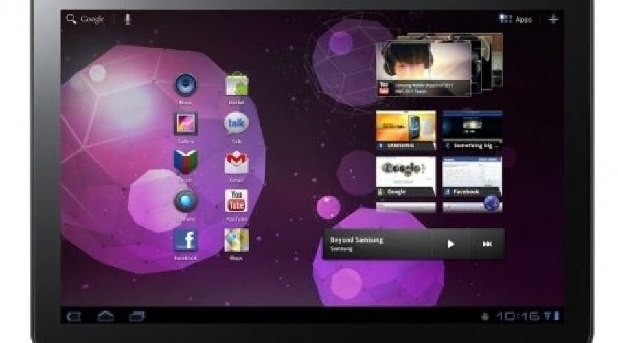 Samsung Galaxy Tab 10.1v – Focus pe divertisment