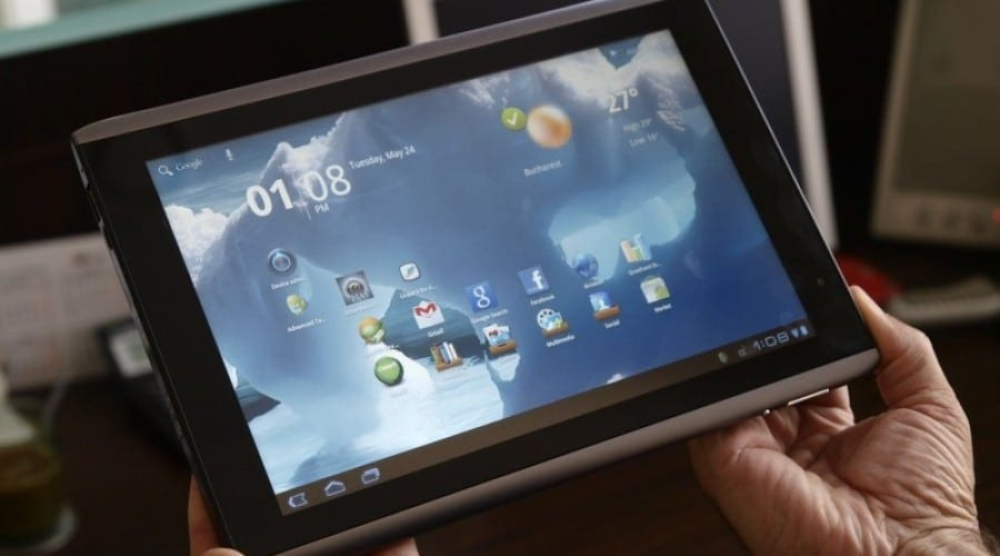 Acer Iconia Tab A500 : Experienţa Honeycomb, pe 10 inchi