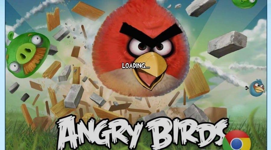 Joacă Angry Birds pe PC sau laptop, prin Chrome Web Store