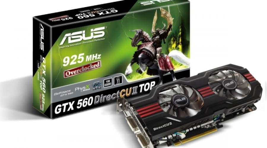 ASUS GTX 560 DirectCU II TOP întâmpină noua generaţie de jocuri