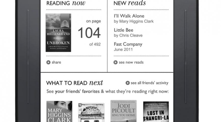 All New Nook – Ebook reader la un preţ excelent