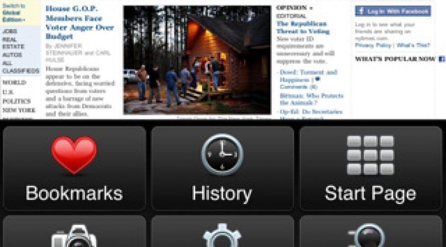 Opera Mini, ultra rapidul browser, disponibil pe iPad