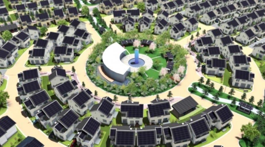 Oraşul viitorului, construit de Panasonic