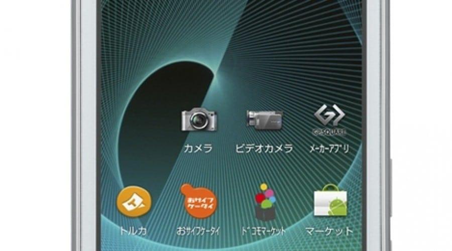 Un nou smartphone 3D: Sharp Aquos SH-12C