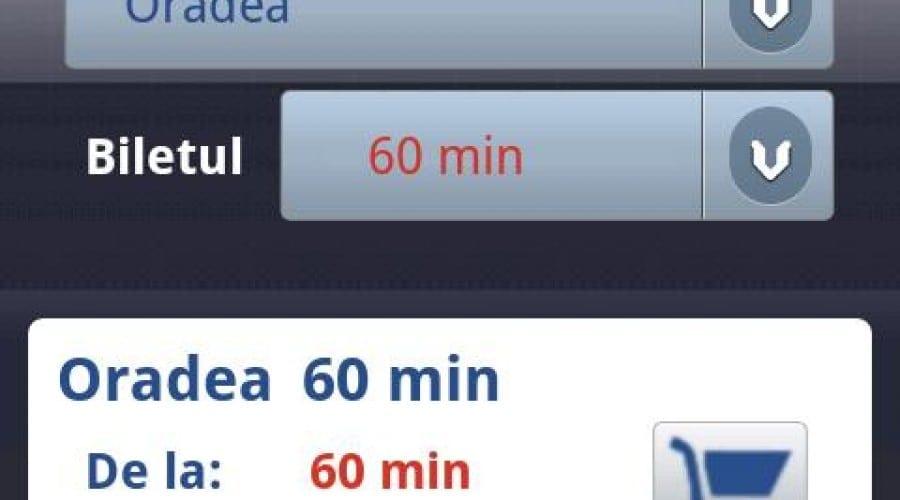 Aplicaţie Android de plată a parcării