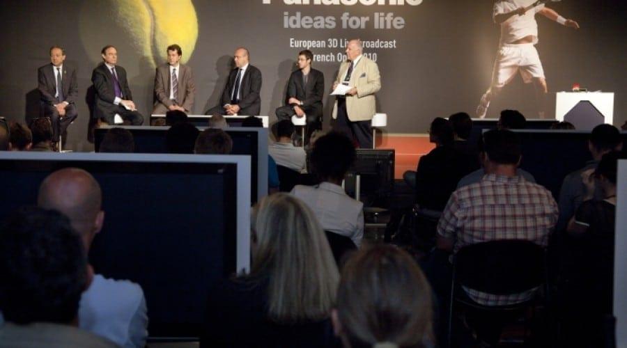 Prima transmisie 3D TV live din România, Roland Garros 2011