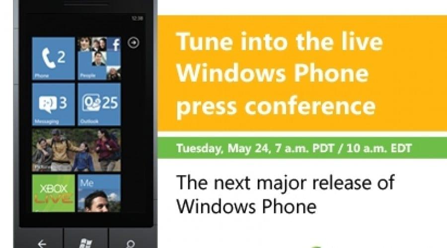 Microsoft va dezvălui azi detaliile noului Windows Phone Mango