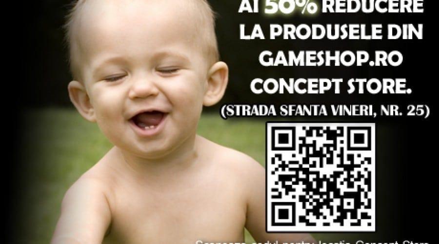 Reducere de 50% la jocuri, de Ziua Copilului
