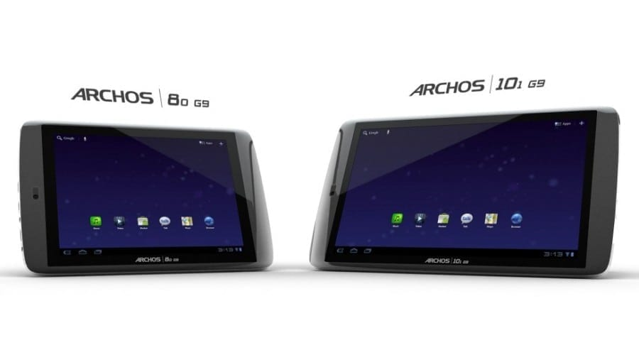 Archos G9: Tablete dual core 1.5 GHz