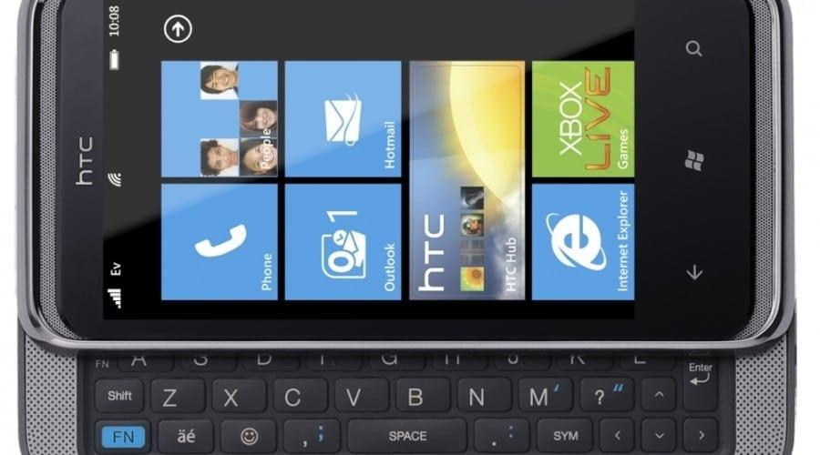 HTC 7 Pro vine cu bunătăţi Windows 7