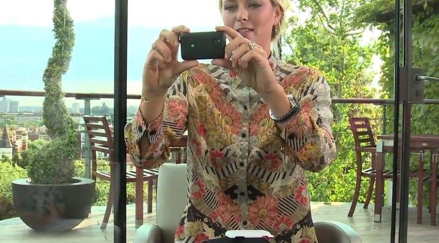 Wimbledon 2011 – Maria Sharapova testează Xperia active