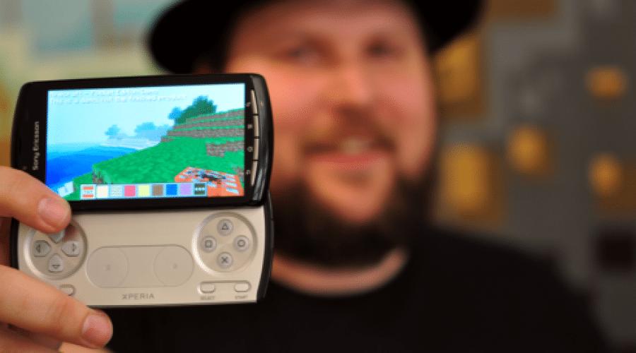 Minecraft şi alte 20 de jocuri pe Xperia Play (video)