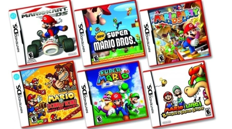 Nintendo anunţă DS Lite la preţ redus şi un noul look pentru jocurile Mario