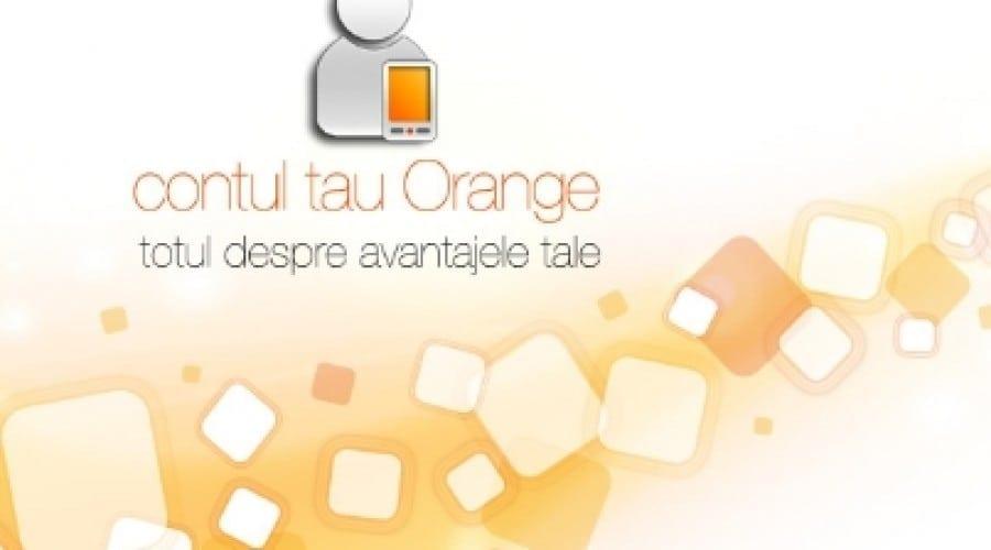 Orange Contul Meu vine cu un nou look şi noi opţiuni