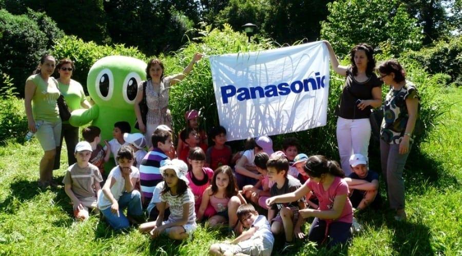 Panasonic predă ecologie în şcolile din România