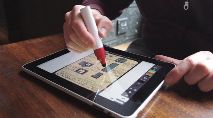 Scribbly: Un pen simpatic pentru iPad