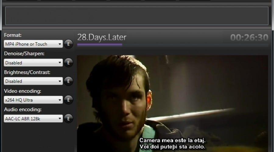 Cum sa convertesti un film pentru iphone/ipod touch si sa adaugi subtitrare