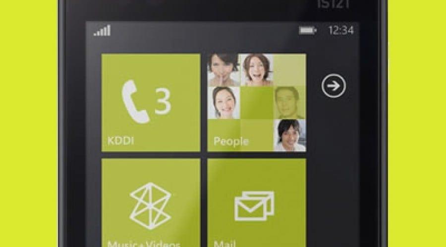Japonezii dezvăluie primul telefon cu Windows Phone Mango, IS12T
