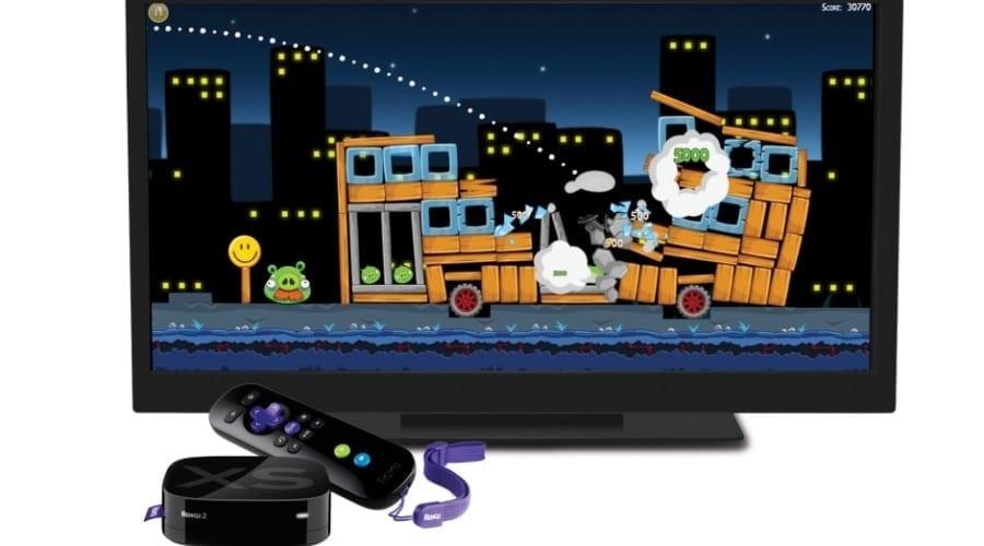 Joacă Angry Birds pe TV cu noile playere Roku