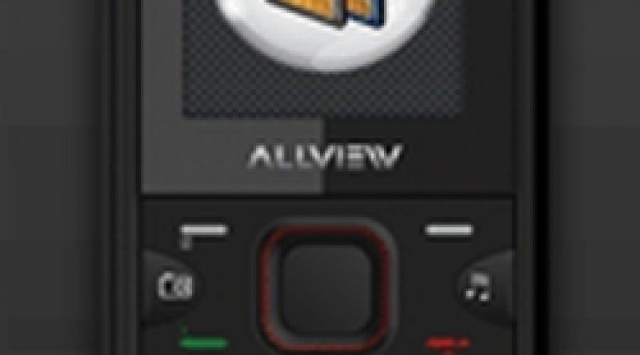Allview L1 Life: Telefon Dual SIM, card 1 GB şi cartelă SIM la 75 lei