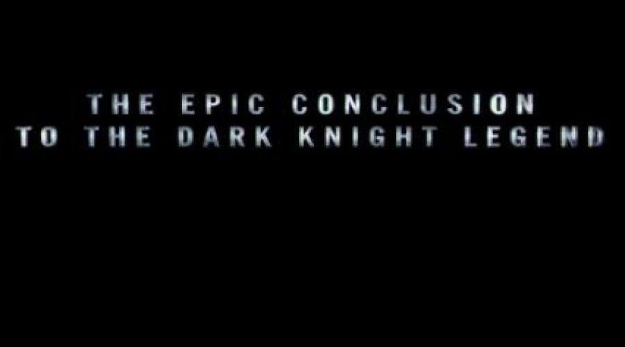 The Dark Knight Rises – Primul trailer ni-l prezintă pe Bane