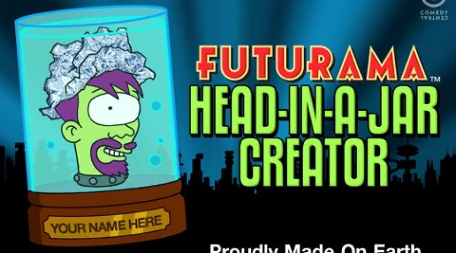 Creează-ţi propriul personaj din Futurama sau South Park