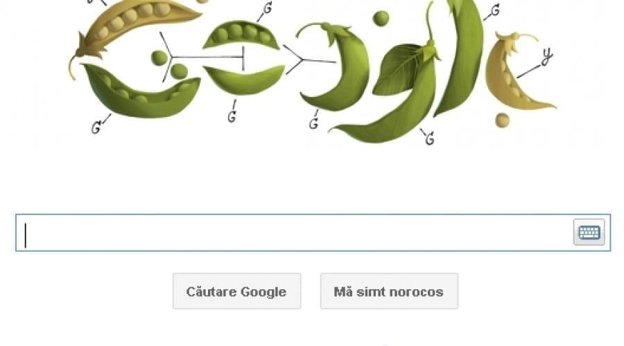 Google Doodle: Gregor Mendel şi mazărea care a dat naştere legilor eredităţii